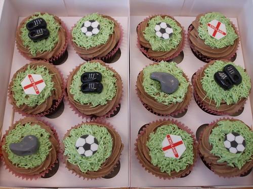 Football cupcake order