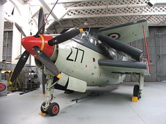 Fairey Gannet AS6, Imperial War Museum, Duxford ( Claire ) Tags: duxford fairey gannet imperialwarmuseum royalnavy hangar3 faireygannet maritimecollection