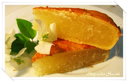 Học cách làm bánh khoai mì nướng đơn giản tại nhà
