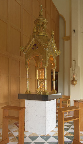 Saint Meinrad Archabbey, in Saint Meinrad, Indiana, USA - tabernacle