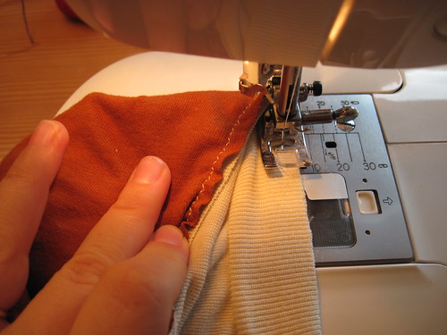 Neckline Sewing