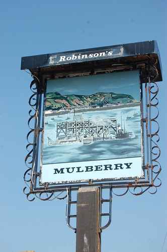 Mulberry pub, Conwy May 10 1
