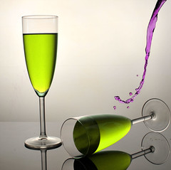 United Colors of Gravity (WHID) Tags: green water studio drops purple wine drink drop setup splash sb800