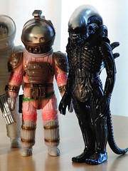 Dallas and the Alien (REdYOdA) Tags: toys japanese dallas eva alien ridleyscott vinyl astronaut ripley kane lambert spacesuit moebius marmit nostromo lv426