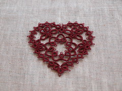 Tatting Heart