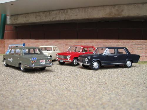 1966 Fiat 124 Familiare. Italia-Polizia-Fiat 124