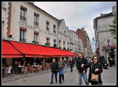 La boheme (Frk2010) Tags: paris france facade french photo cafe nikon montmartre bistro d90 pixelistes nikonfrance nikonistes placejeanmarais