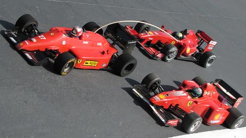 3 gerações de Ferraris - F60, F310B, F156