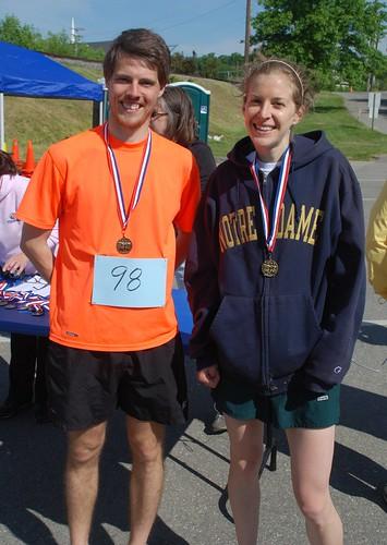 Joseph W. Fitzsimmons & Megan Peterson overall winners DSC_1476