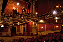 Elgin Theatre Balcony (PhotographicFixations) Tags: cinema toronto ontario canon theatre balcony stage canon20d seats balconies seating 1813 elgintheatre moviehouse orchestrapit wintertheatre