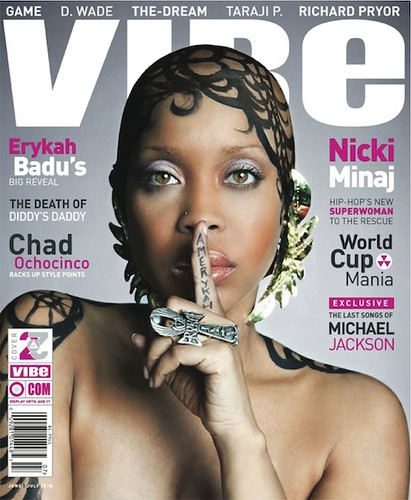 erykah badu vibe magazine cover