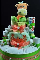 Nappy Cake (Darla1034) Tags: gifts madetoorder nappycake morethangifts
