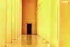 [12/183] At the end (Sada AlQuds 48) Tags: door signs mystery canon lights bahrain closed long open columns corridor places mosque hidden masjid expect alfatehmosque alfateh hints مسجد chances 500d باب غموض suspence ممر فوانيس الفاتح مغلق فرص أعمدة مسجدالفاتح