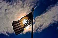 Star Spangled Banner (bennyboie) Tags: arizona usa hawaii memorial oahu flag american honolulu patriot uss bowfin