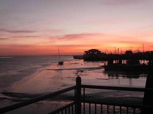 Sunrise at Gillingham Pier,Gillingham,Kent