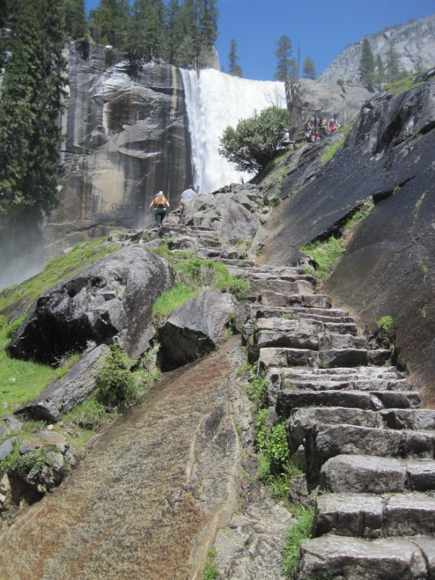Vernal Fall (Mist Trail)
