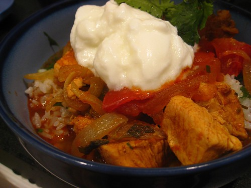 Jamie Oliver's Chicken Vindaloo