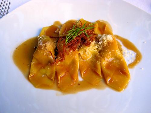 veal-filled pasta