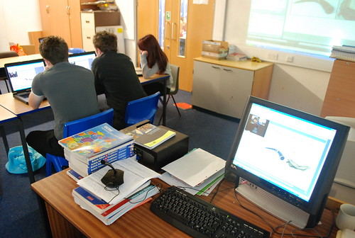 Virtual Classroom - Year 12 by Mr Ush, on Flickr