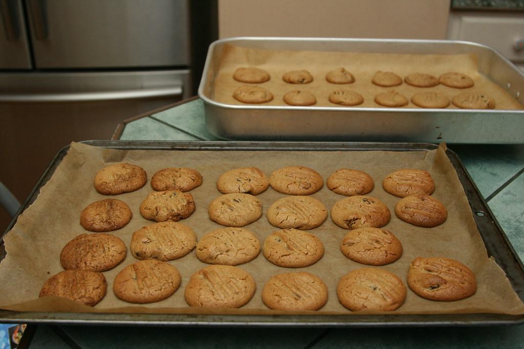 Macadamia nut butter cookies