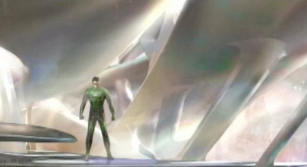 Concept art Green Lantern Movie