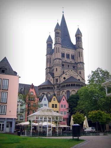 Köln Rheinpromenade