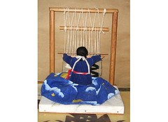 Navaho weaver