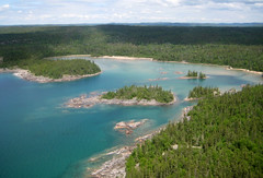 Fish Harbour from the south (Petroglyph) Tags: ontario canada lakesuperior pukaskwanationalpark thunderbaydistrict tgamtravelparkscanada