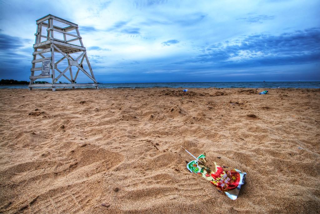 Oak St. Beach.
