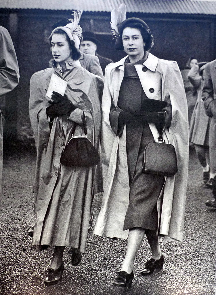 Princess Elizabeth and Princess Margaret 1949
