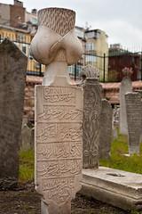 Ottoman Grave (Viajante) Tags: arabicscript islam islamic ottoman ottomanturkish cemetery grave graveyard inscription tombstone istanbul turkey tr yp2010