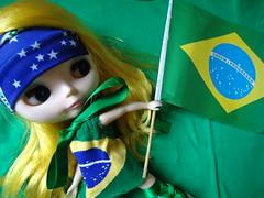 É o dia! Torcida Brasil - Desafio Junho Blythecombr