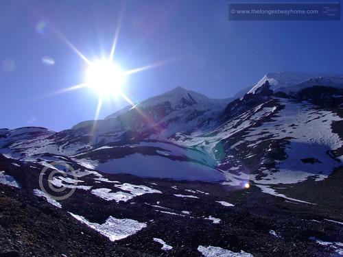 5416 metres (17769 ft) - Nepal