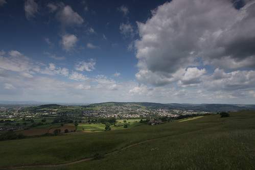 The view from Selsley Common