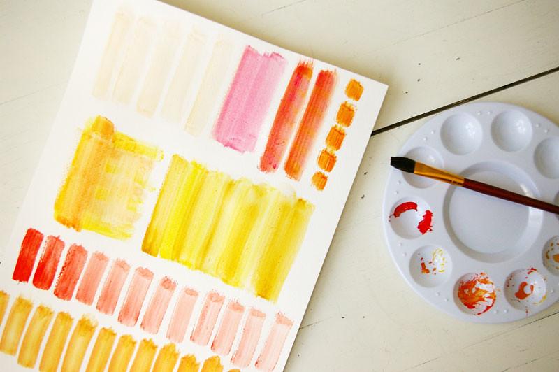watercolour play