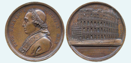 Restoration of the Colleseum medal 1806