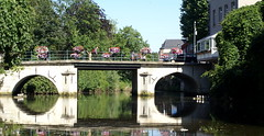 Bridge under the Dijle - Pont sur la Dyle (p.franche) Tags: bridge europe belgium belgique pont mechelen malines dyle dijle belge ringexcellence pfranche