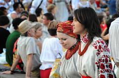 (both names in passport) Tags: girls summer portrait people june festival nikon ukraine 2009 kyiv портрет d300 люди україна фестиваль київ vyshyvanka дівчата країнамрій літо червень crainamriy