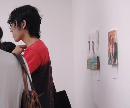 Fujishiro Uso (@lie_) paintings and JUNYA SUZUKI
