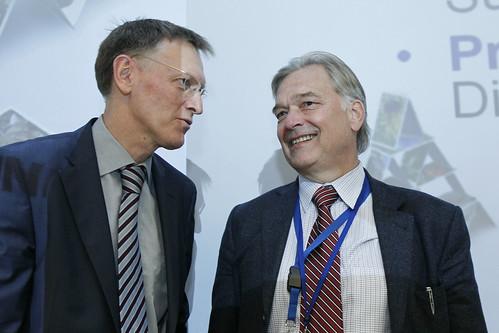 Janez Potocnik  and Karl Falkenberg