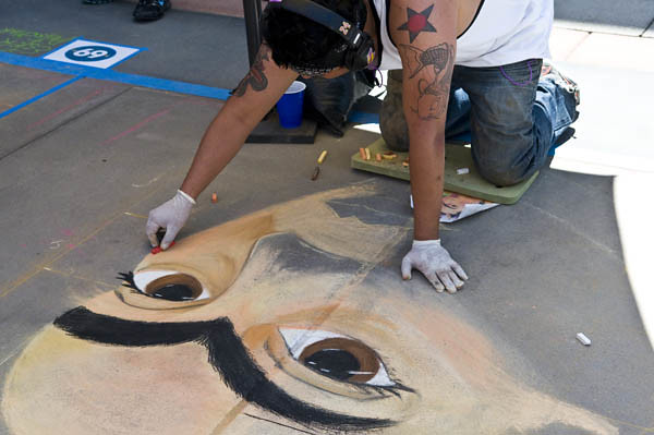 Chalk Festival Frida