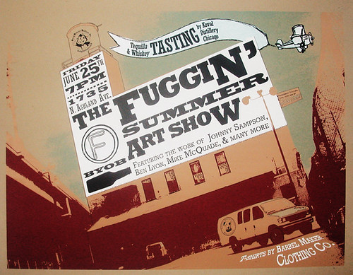 FUGGIN' PRINT SHOW by billy craven.