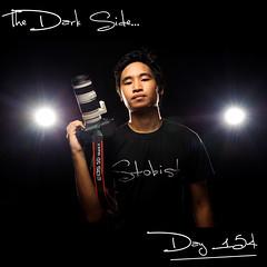 Day 154: The Dark Side... (L S G) Tags: portrait selfportrait canon nikon flash sb600 pinoy lsg thedarkside 7020028 project365 365days strobist 365daysproject nikond3 5dmarkii 365daysvv