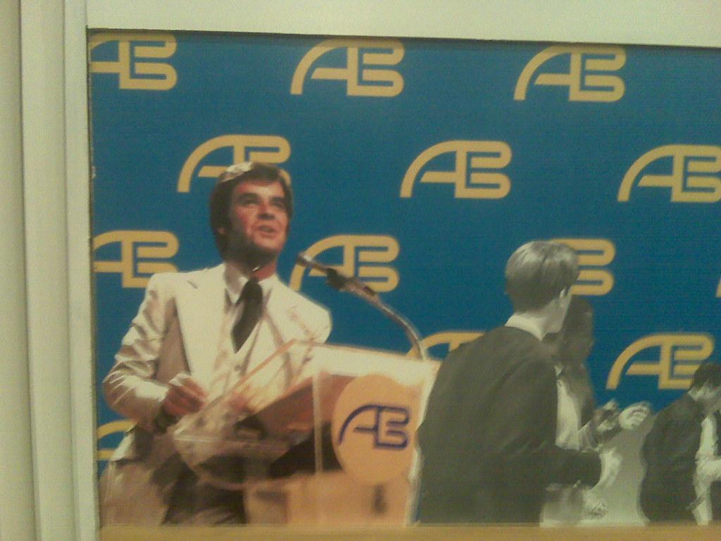 Dick Clark American Bandstand mural in Newark Airport