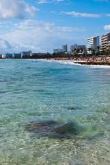 Cala Millor (a.steltner) Tags: blue vacation beach water strand hotel spain nikon wasser urlaub insel blau mallorca ferien spanien balearen d60 islasbaleares calamillor azurblau
