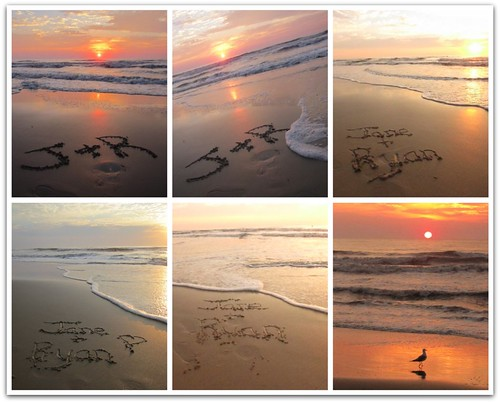 Personalized Sunrise Photo Collage