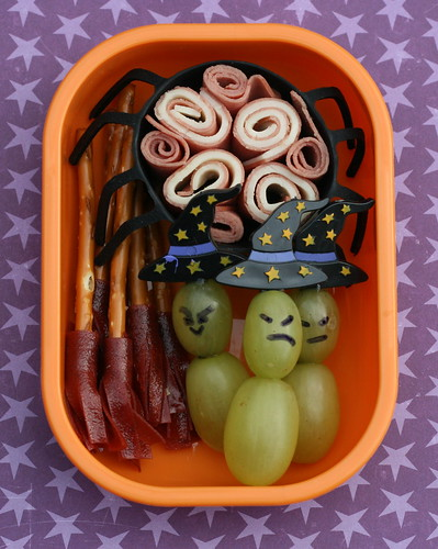 witchy witchy woman snack bento