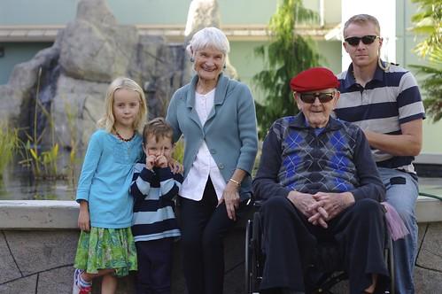 Visiting Grandpa