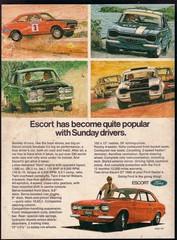 1970 Ford Escort Mk1 Twin Cam Ad