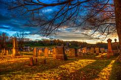 Graveyard Halloween Night
